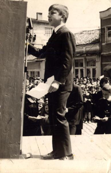 Biga İmam Hatip İlk Yılları Törende Şiir Okurken